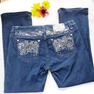 Miss Me Mid Rise Easy Boot Jeans Size 32